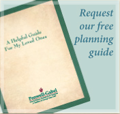 Request a free funeral or cremation planning guide from Penwell-Gabel Hutchinson